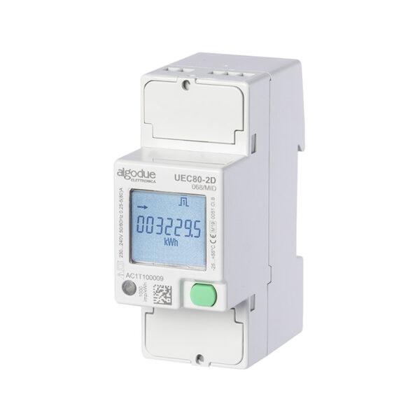Contatore di energia elettrica monofase UEC80-2X