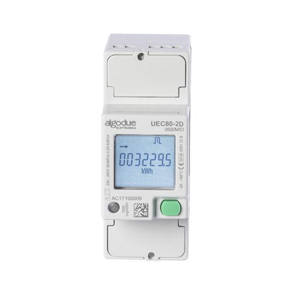 Contatore di energia elettrica monofase UEC80-2D