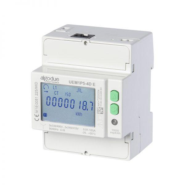 Contatore di energia elettrica trifase UEM1P5