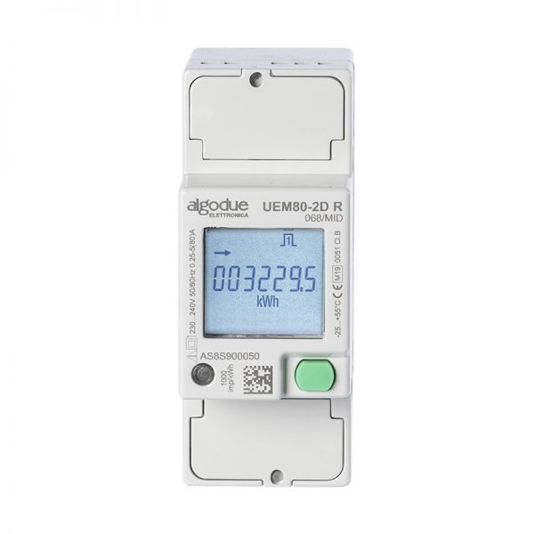 Contatore di energia elettrica monofase UEM80-2D