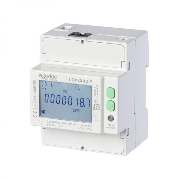 Contatore di energia elettrica trifase UEM80