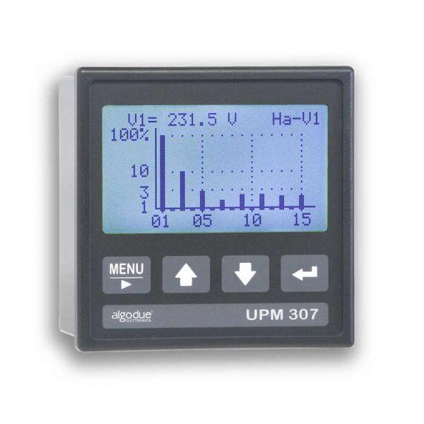 analizzatore di rete trifase upm307