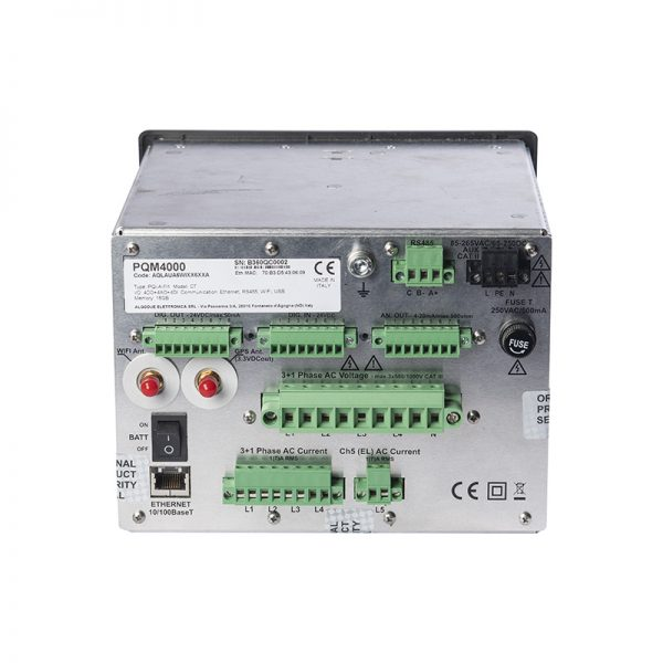 analizzatore di rete classe A pqm4000